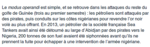 Extrait d'un article du journal Le Monde